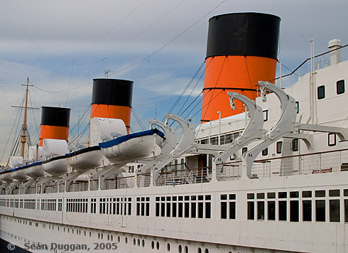 Queen Mary, port side